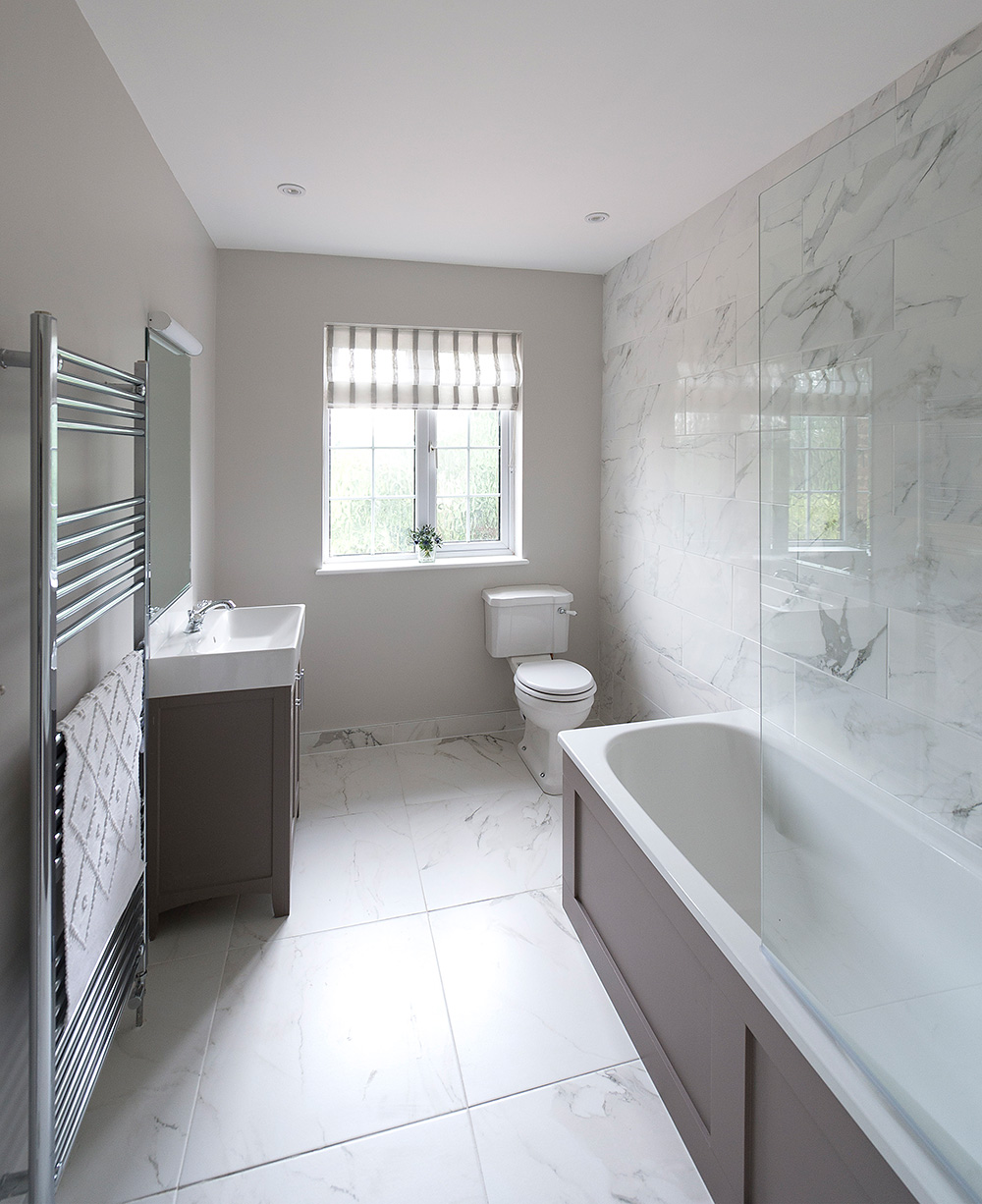 Small bathroom Interior, nikkirees.com, Wimbledon interior designer, home renovation, traditional bathroom
