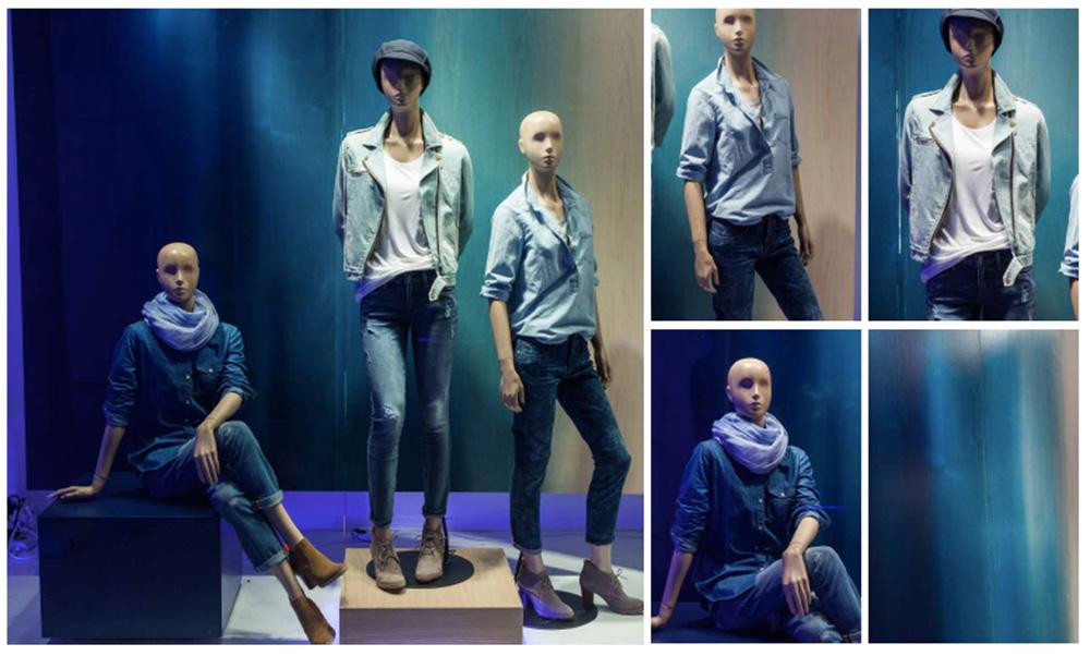 retail-design, nikkirees.com, mannequin design, visual merchandising Wimbledon London