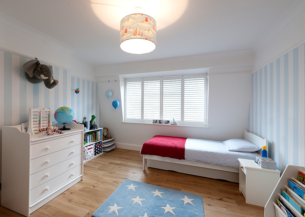 Kids bedroom, boys room, Wimbledon Interior Designer, Nikkirees.com, children's interior design