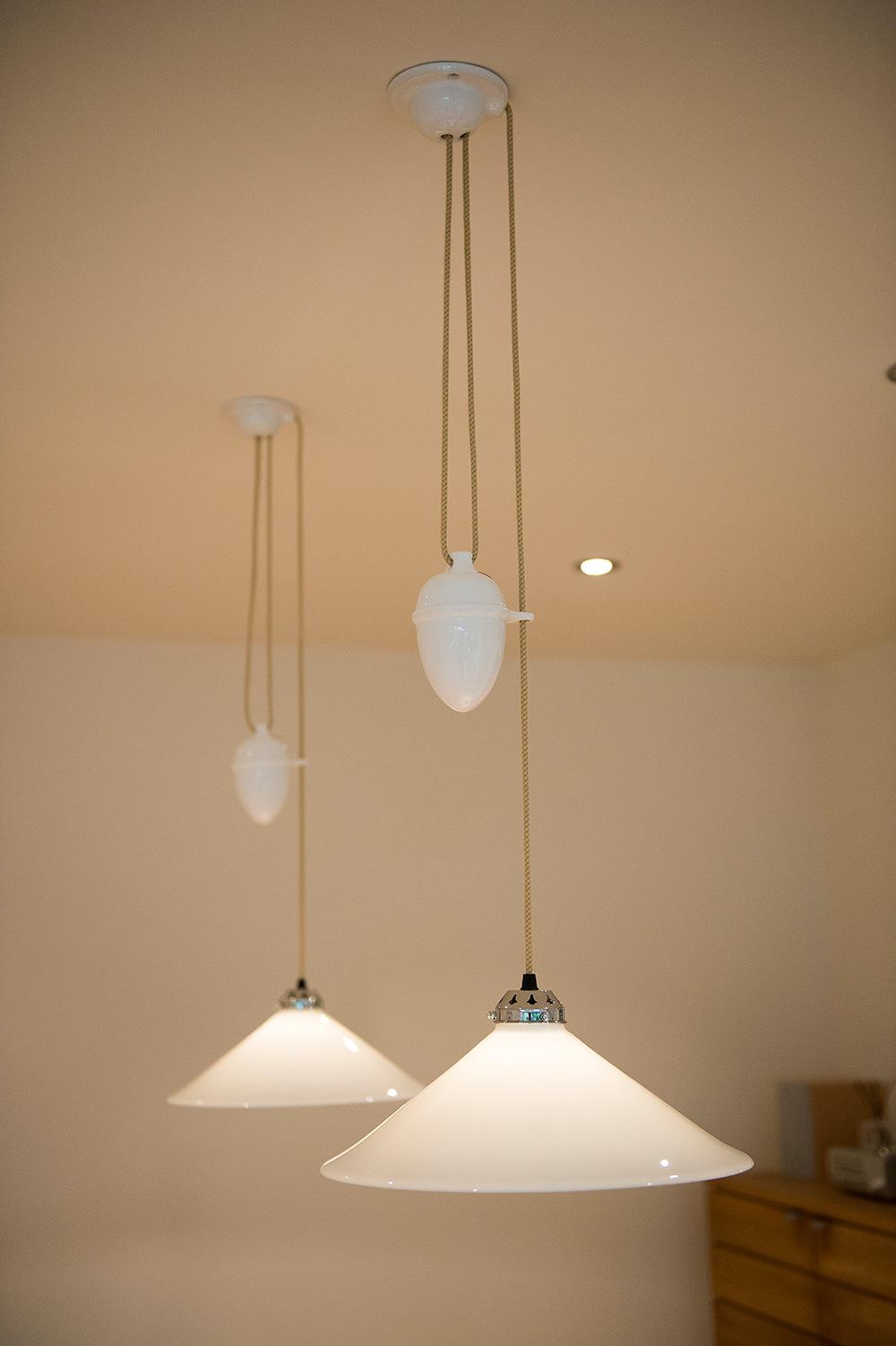 cob pendent BTC lighting Wimbledon Interior Designer, pendent lights, Nikkirees.com, interior design