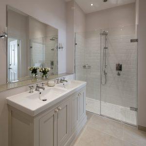 traditional Bathroom, ensuite, shower room, Nikkirees.com, wimbledon interior designer, london and surrey interior design