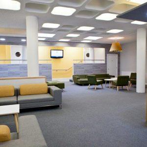 College Of Interior Design Model king's college school sixth form common room | nikki rees interior