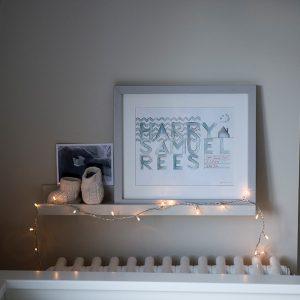 Nursey deco, kids interior design, Nikkirees.com, Wimbledon interior designer