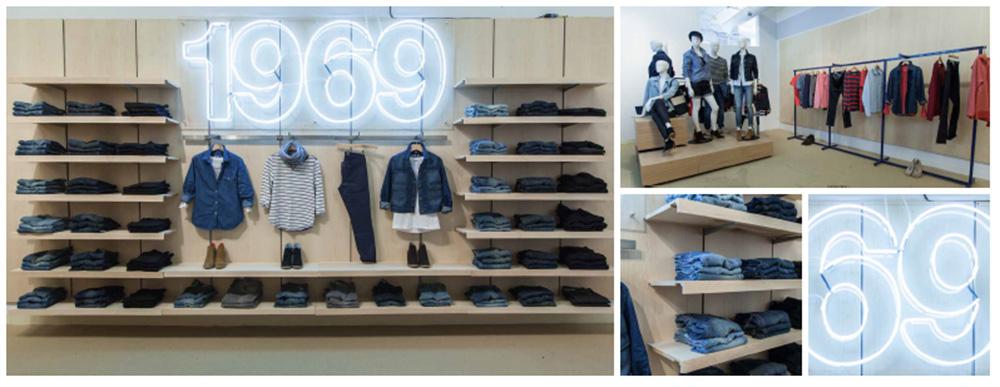 Retail lighting and graphics, Nikkirees.com Retail design Wimbledon London