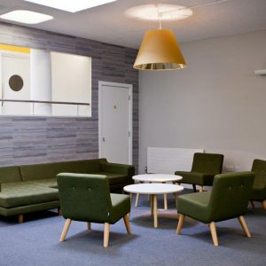 Workplace consultancy, Office design, Nikkirees.com, Office fit-out, Workplace furniture, Kings college school sixth form center
