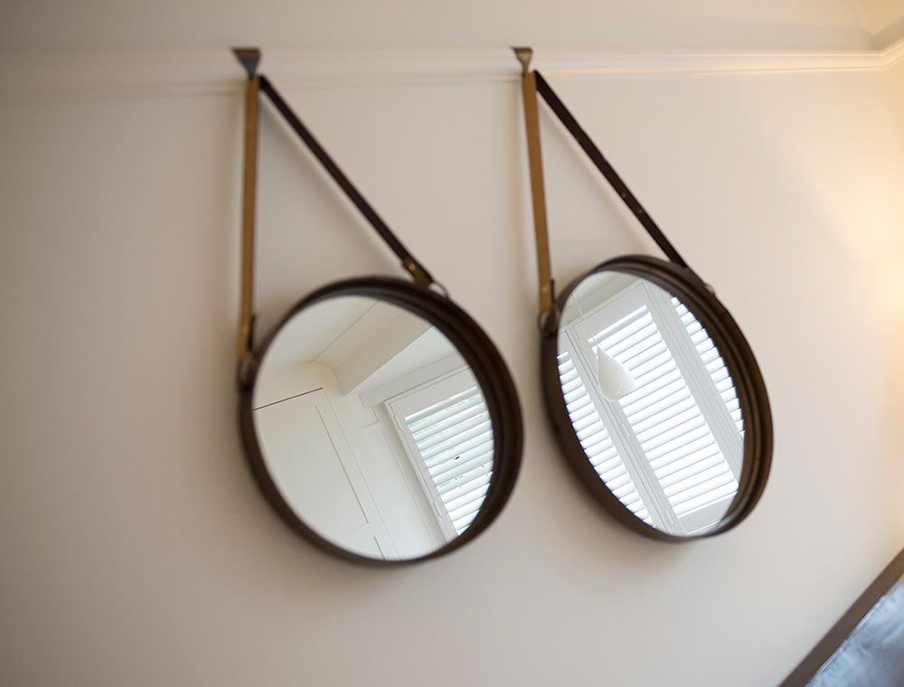 Hanging mirrors, Interior styling, Wimbledon Interior Designer, Nikkirees.com