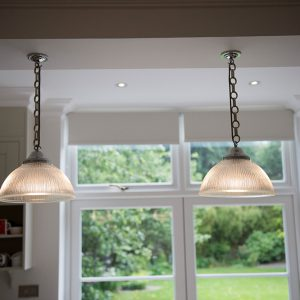 Jim Lawrence, kitchen pendents lighting, Nikki Rees.com interior designer Wimbledon london surrey