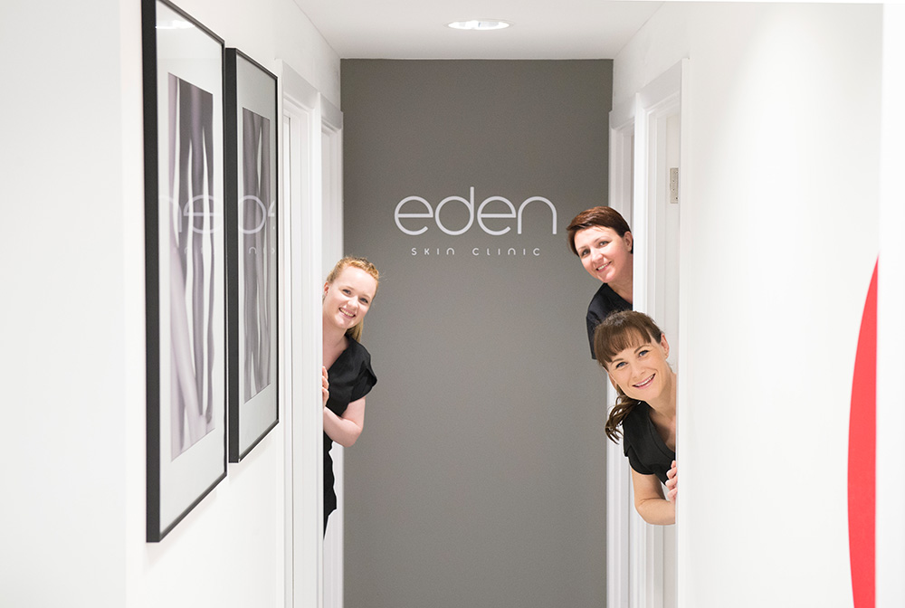 Eden Skin Clinic hallway, Nikkirees.com, media spa interior design, workspace consultancy, Interior designer Wimbledon London