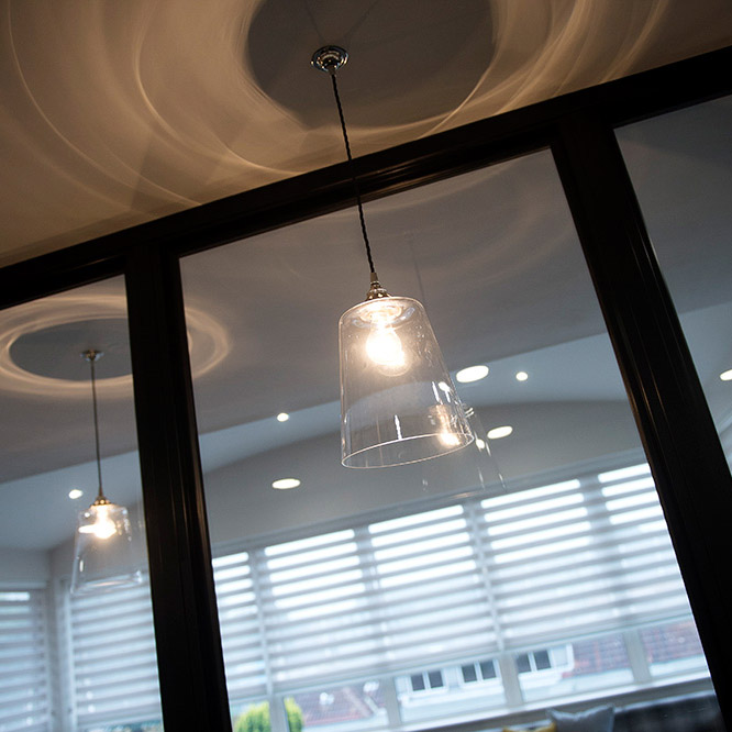 lighting design, NikkiRees.com interior designer Wimbledon London, commercial office design,