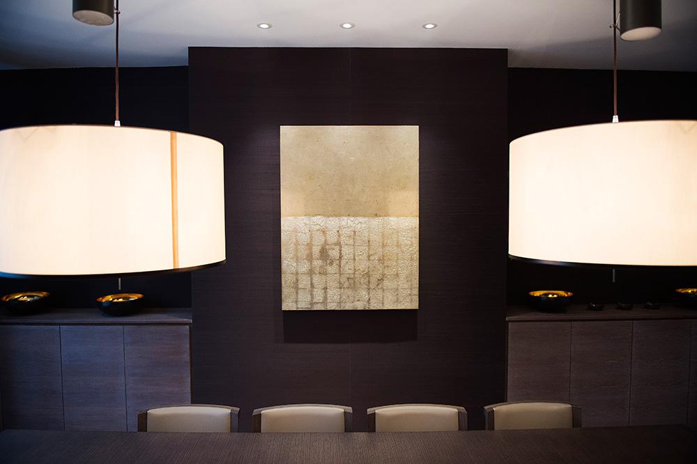 1-Nikki-Rees-Dining-Room-interior-design-Art-lighting-wallpaper-london-1